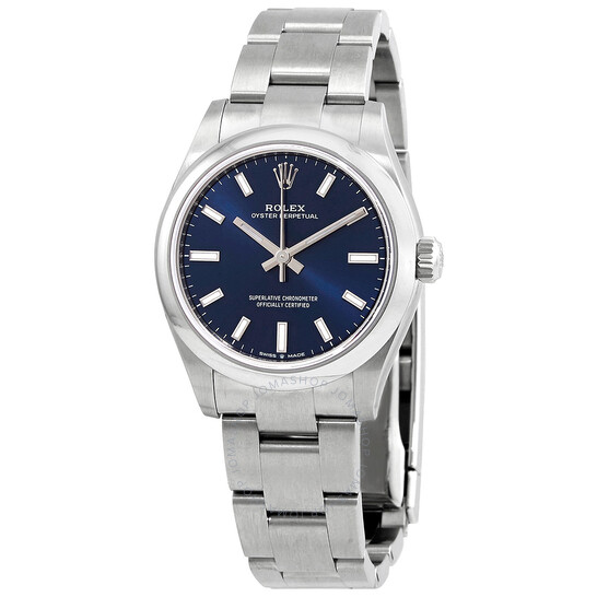 Rolex Oyster Perpetual 31 Automatic Chronometer Blue Dial Ladies Watch 277200BLSO | Joma Shop