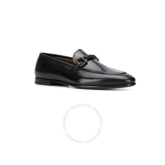 Salvatore Ferragamo Gancini Bit Loafers In Black, Brand Size 8.5 EEE   Joma Shop