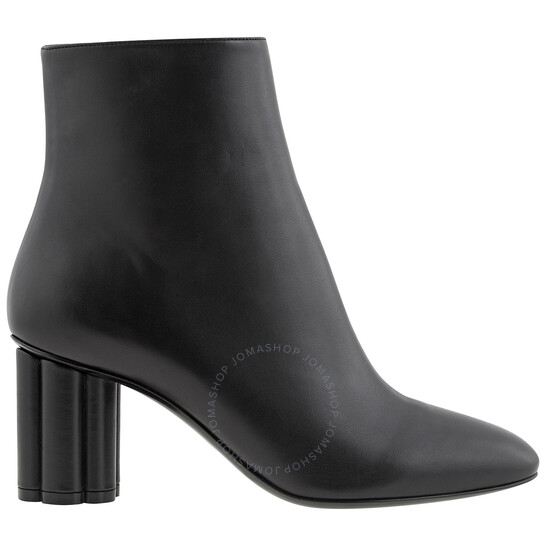 Salvatore Ferragamo Ladies Flower Heel Boots, Brand Size 5   Joma Shop