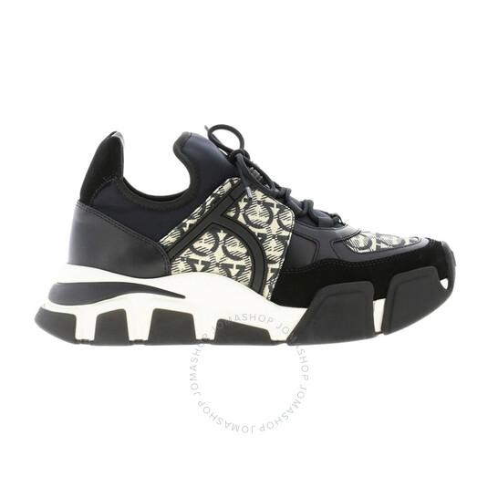 Salvatore Ferragamo Ladies Gancini Sneakers, Brand Size 7 | Joma Shop