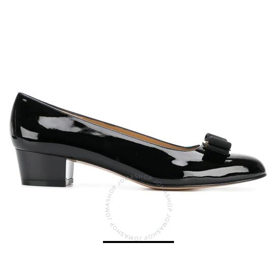 Salvatore Ferragamo Ladies Vara Bow Pump Shoe, Brand Size 9   Joma Shop