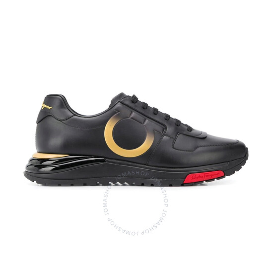 Salvatore Ferragamo Men's Gancini Sneakers, Brand Size 7   Joma Shop