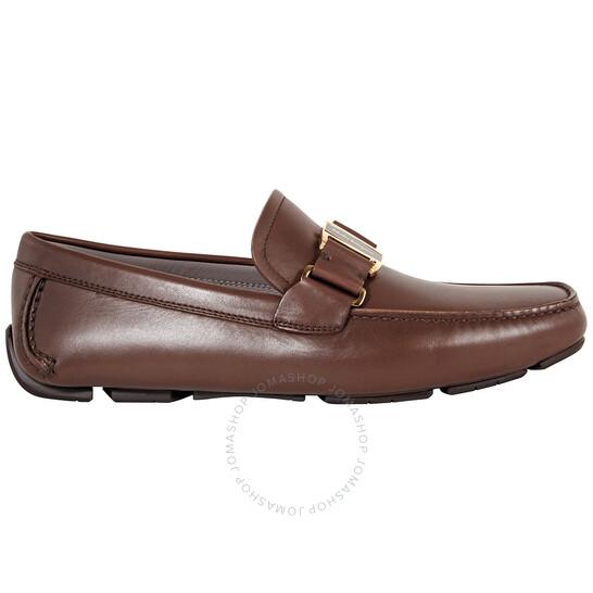 Salvatore Ferragamo Men's Vara Bit Driver Moccasin, Brand Size 6.5 EEE   Joma Shop