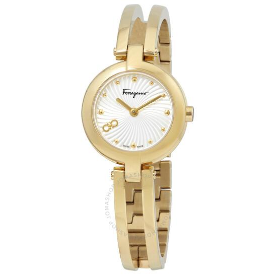 Salvatore Ferragamo Quartz Silver Dial Ladies Watch (SFAT01220)