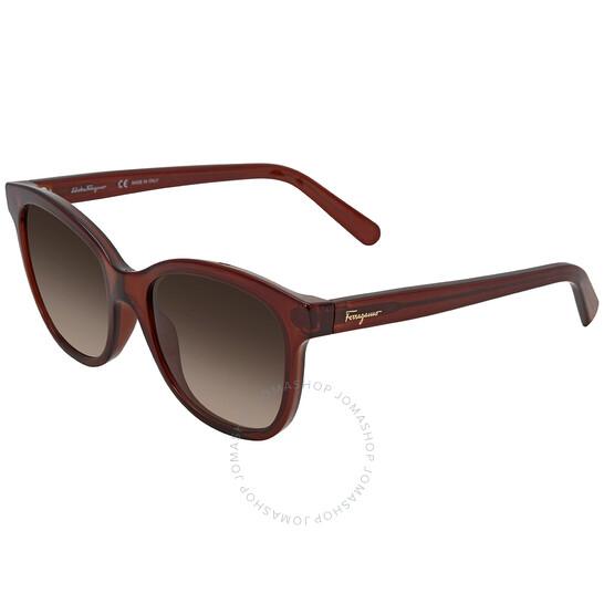 Salvatore Ferragamo Rectangular Sunglasses (SF834S 210 55)