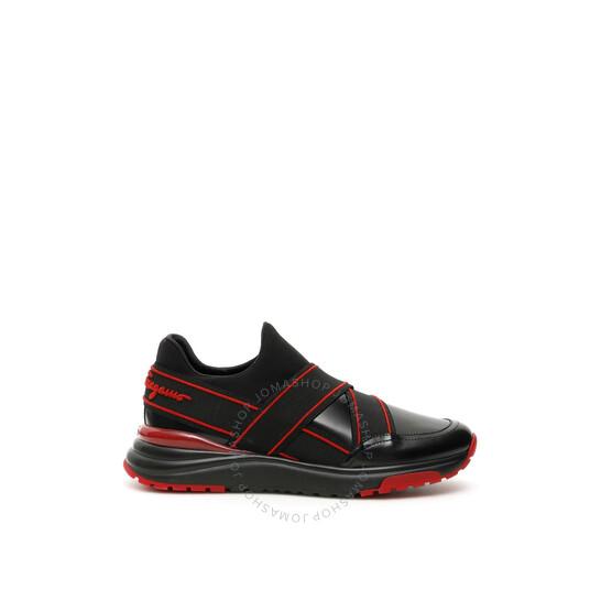 Salvatore Ferragamo Studio Men's Elasticated Strap Slip-on Sneakers, Size 7 | Joma Shop