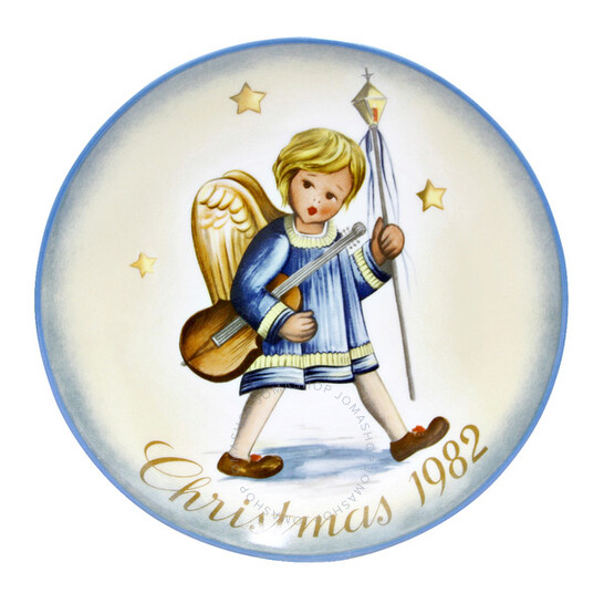 """Schmidt """"Angelic Procession"""" Christmas Plate 1982 