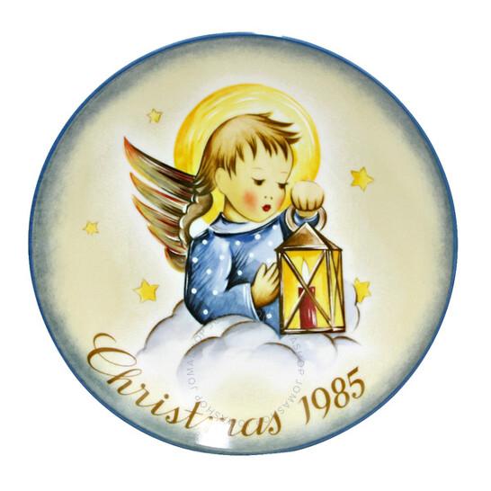 Schmidt Heavenly Light Christmas Plate 1985   Joma Shop
