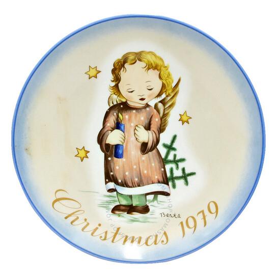 "Schmidt ""Starlight Angel"" Christmas Plate 1979   Joma Shop"