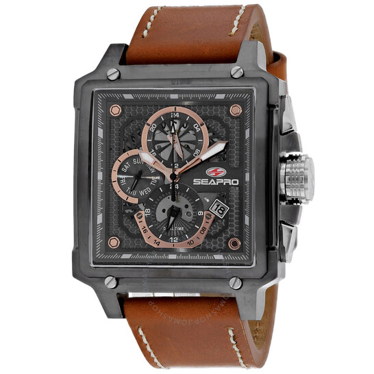Seapro Dual Timer Brown Dial Men's Watch SP0113   Joma Shop