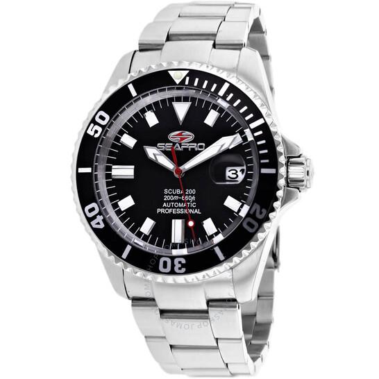 Seapro Scuba 200 Automatic Black Dial Men's Watch SP4311 | Joma Shop