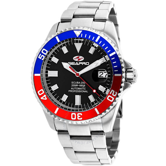 Seapro Scuba 200 Automatic Black Dial Men's Watch SP4319   Joma Shop