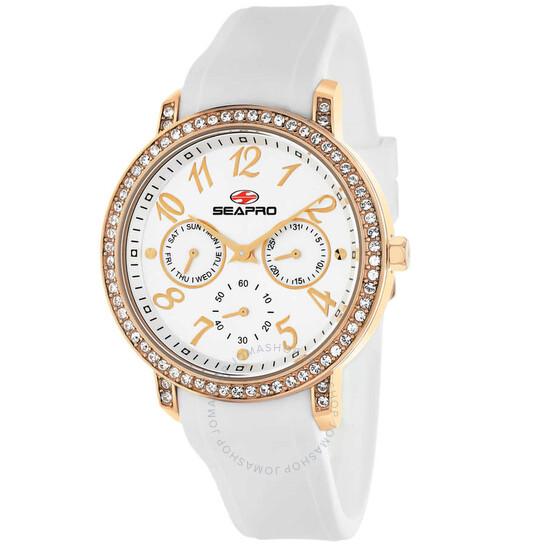 Seapro Swell Quartz Silver Dial Ladies Watch SP4412 | Joma Shop