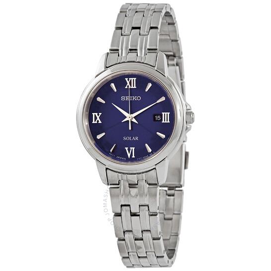 Seiko Essentials Quartz Blue Dial Ladies Watch SUT347 | Joma Shop