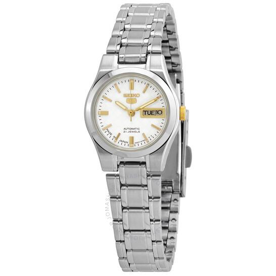 Seiko Seiko 5 Automatic White Dial Men's Watch SYMH17J1   Joma Shop