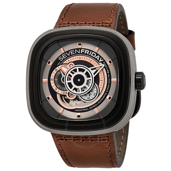 Sevenfriday Industrial Revolution Automatic Men's Watch P2-1   Joma Shop
