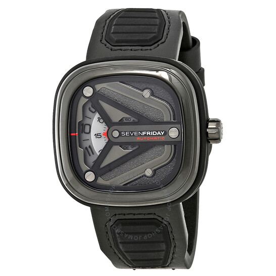 Sevenfriday M-Series Automatic Grey Dial Men's Watch (M3/01)