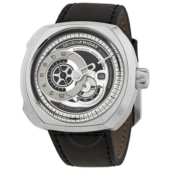 Sevenfriday Q-Series Automatic Men's Leather Watch