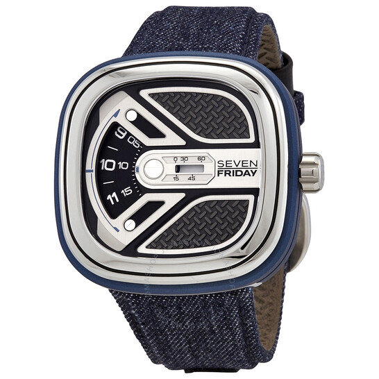 Sevenfriday Urban Explorer Automatic Black Dial Men's Watch M1B/01   Joma Shop
