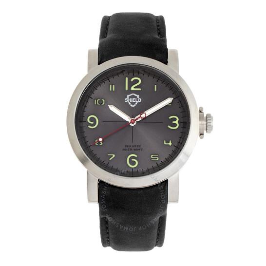 Shield Berge Quartz Grey Dial Men's Watch SLDSH101-3 | Joma Shop