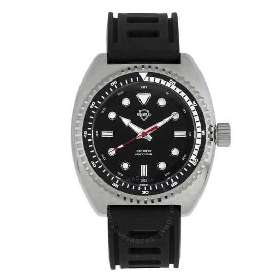 Shield Dreyer Quartz Black Dial Men's Watch SLDSH107-2   Joma Shop