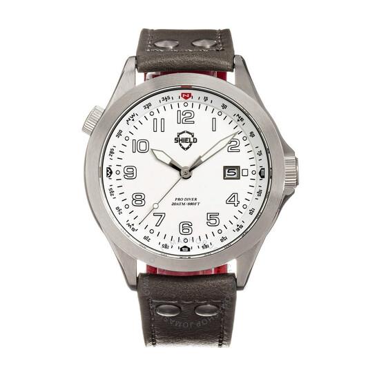 Shield Palau Quartz White Dial Men's Watch SLDSH104-2   Joma Shop