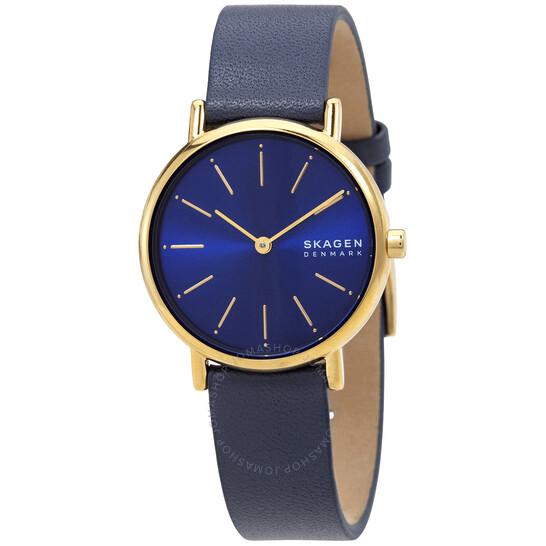 Skagen Signatur Quartz Blue Dial Ladies Watch SKW2867 | Joma Shop