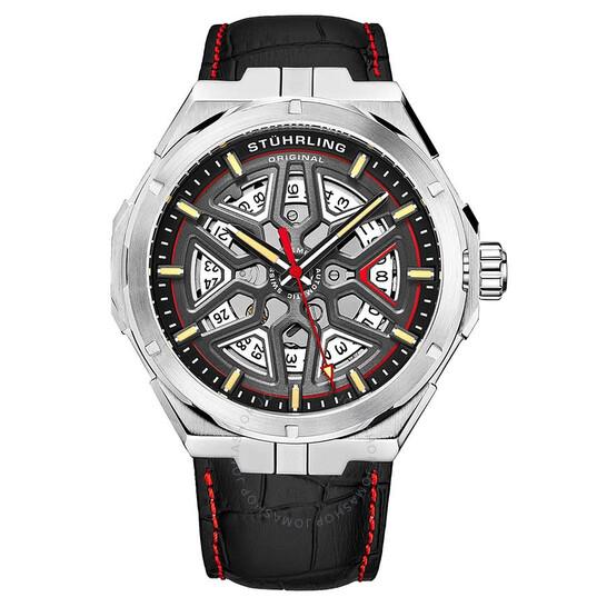 Stuhrling Original Legacy Automatic Black Dial Men's Watch M13490 | Joma Shop