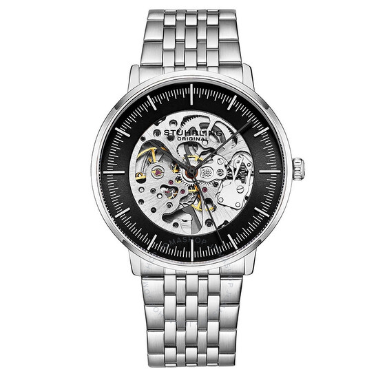Stuhrling Original Legacy Automatic Black Dial Men's Watch M13619 | Joma Shop