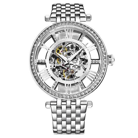 Stuhrling Original Legacy Automatic Silver Dial Ladies Watch M13607   Joma Shop
