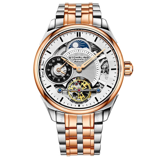 Stuhrling Original Legacy Automatic Silver Dial Men's Watch M13487   Joma Shop
