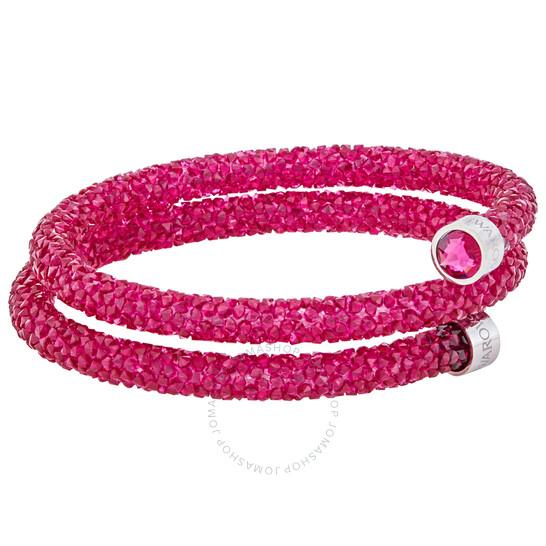 Swarovski Crystaldust Ladies Red Bracelet