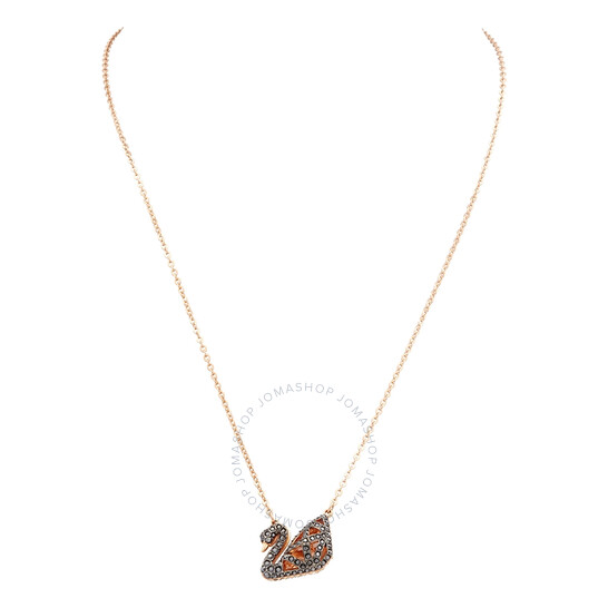 Swarovski Facet Swan Necklace