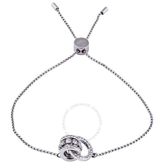 Swarovski Further Rhodium Plated Bracelet