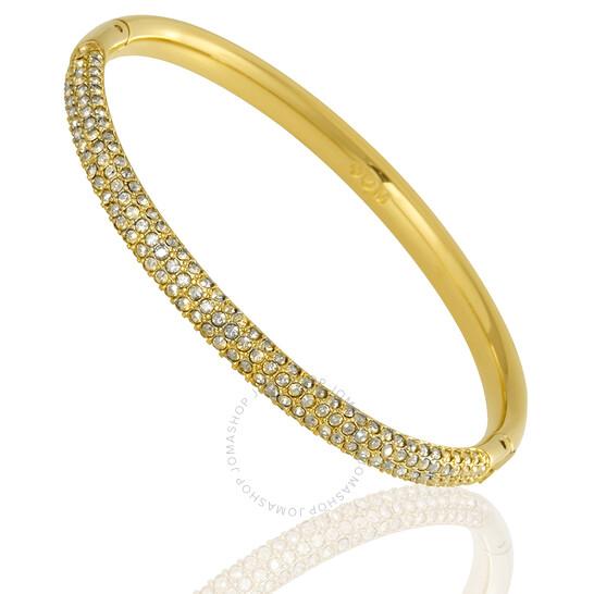 Swarovski Gold-Tone Stone Mini Bangle - Small | Joma Shop