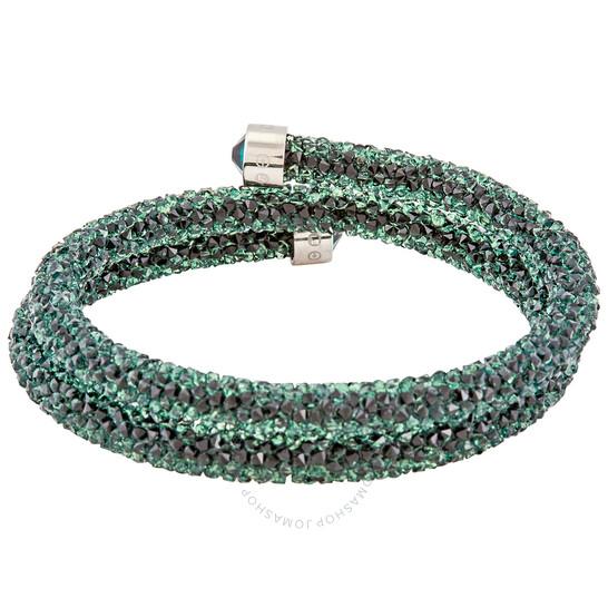 Swarovski Ladies Green Crystaldust Bangle