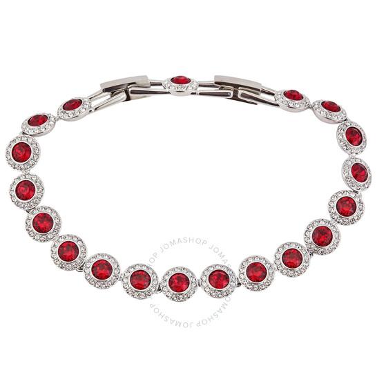 Swarovski Ladies Red Rhodium Plated Angelic Bracelet | Joma Shop