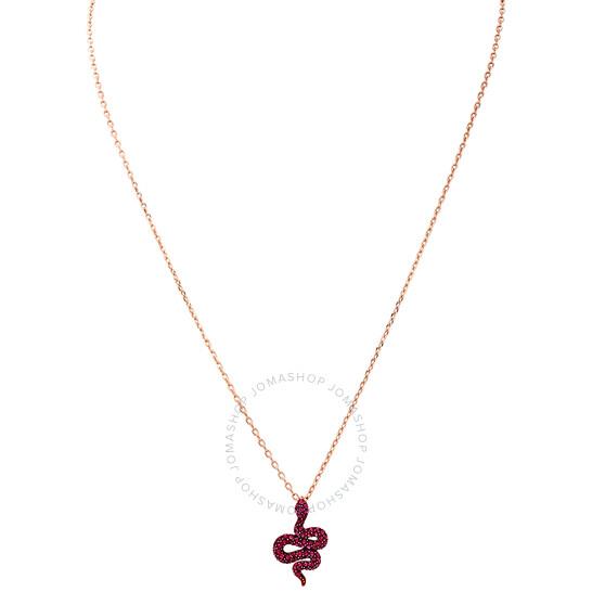 Swarovski Leslie Serpent Rose Gold Plated Necklace