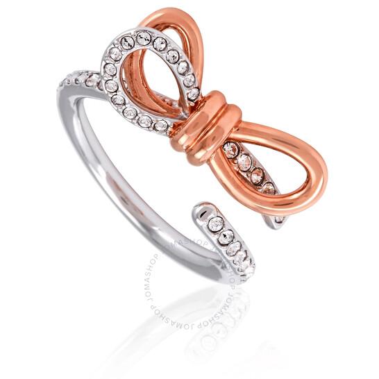 Swarovski Lifelong Medium Bow Ring- Size 55 | Joma Shop