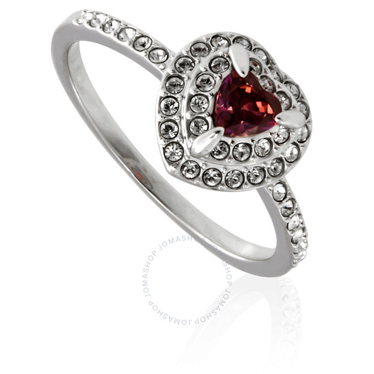 Swarovski Rhodium-Plated One Ring-Size 58 | Joma Shop