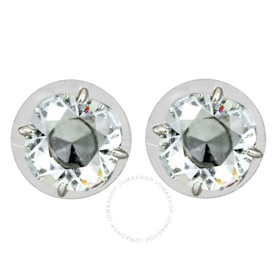 Swarovski Rhodium-Plated Stud Earrings
