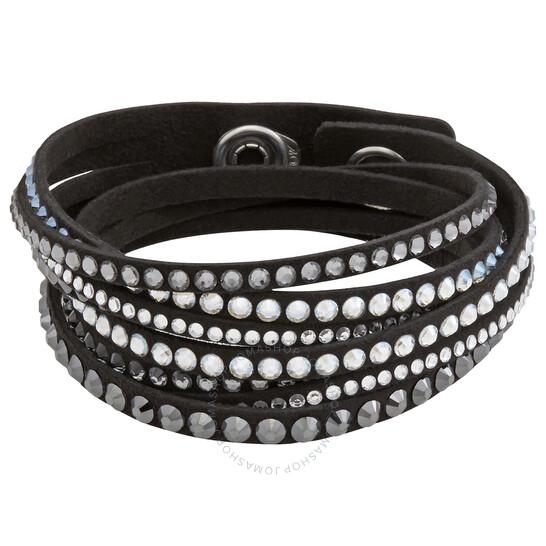 Swarovski Slake Print Ladies Black Bracelet - 5273642   Joma Shop