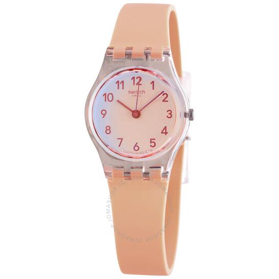 Swatch Casual Pink Quartz Orange Ombre Dial Ladies Watch LK395 | Joma Shop