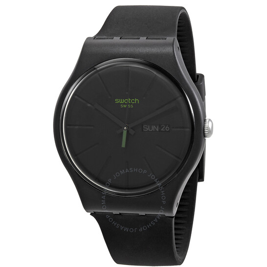 Swatch NEUZEIT Quartz Black Dial Men's Watch SO29B700 | Joma Shop