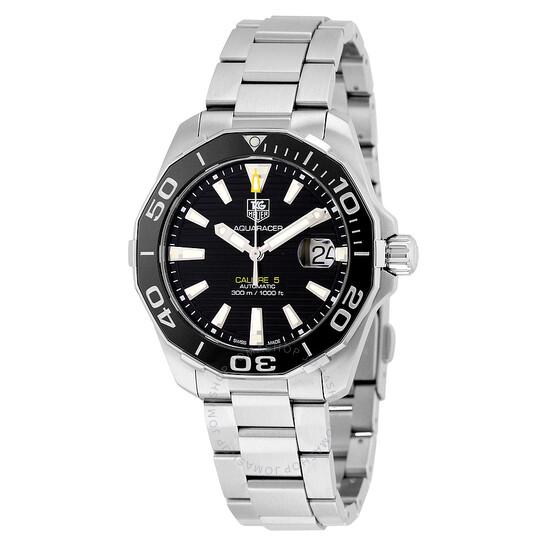 Tag Heuer Aquaracer Automatic Black Dial Men's Watch WAY211A.BA0928 | Joma Shop