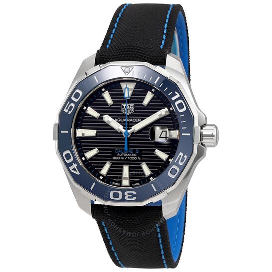 Tag Heuer Aquaracer Automatic Black Dial Men's Watch WAY201C.FC6395   Joma Shop