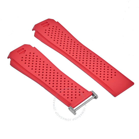 Tag Heuer Connected 45 Red Rubber Watch Band 1FT6080V | Joma Shop