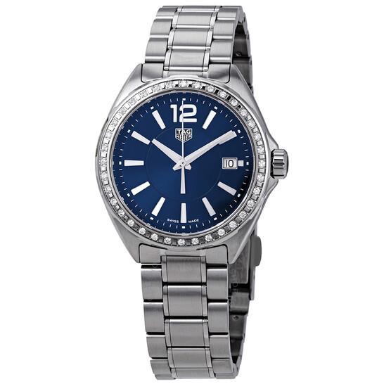 Tag Heuer Formula 1 Blue Dial Diamond Ladies Watch WBJ1316.BA0666 | Joma Shop