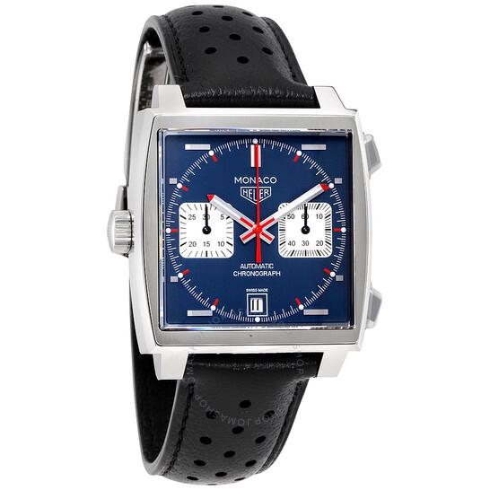 Tag Heuer Monaco Automatic Denim Blue Dial Men's Watch CAW211P.FC6356   Joma Shop