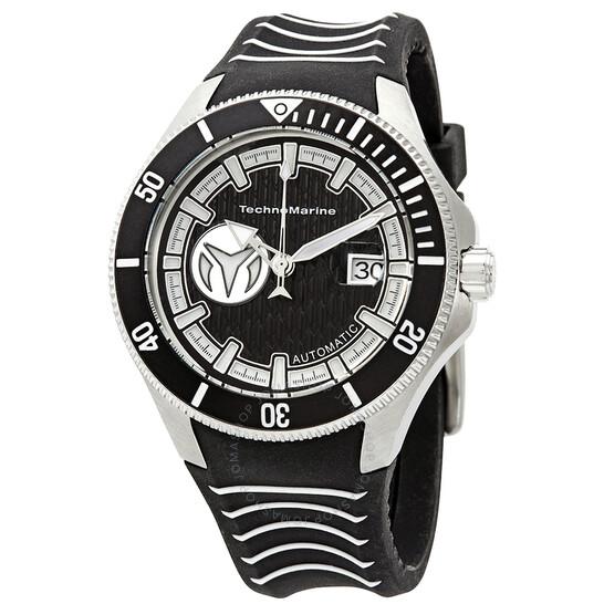 Technomarine Cruise Automatic Black Dial Men's Watch TM-118011   Joma Shop